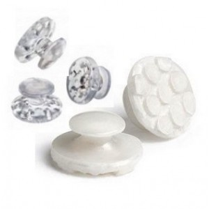 ESTHETIC CERAMIC BONDABLE BUTTONS (WHITE AND CLEAR)