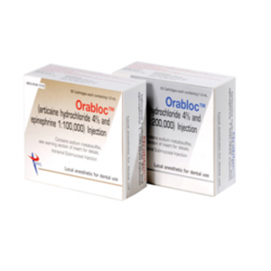 3-D Dental Anesthetics - Cartridges