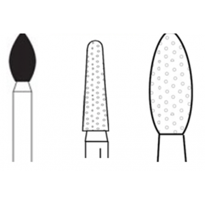 3-D Dental Burs & Diamonds - Multi-Use Diamonds