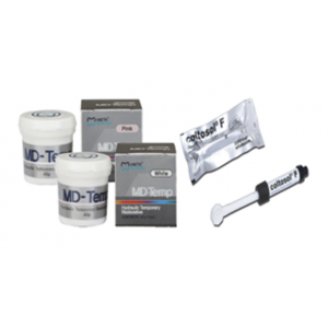 3-D Dental Cements & Liners - Temporary Filling Materials