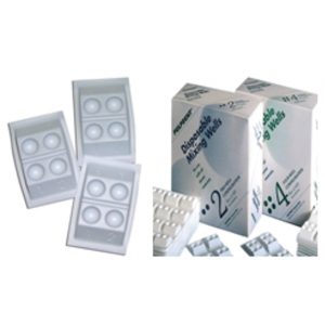 3-D Dental Cosmetic Dentistry - Accessories-Mixing Wells