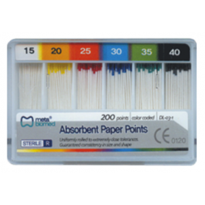 3-D Dental Endodontics - Absorbent Paper Points