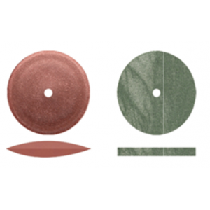 3-D Dental Finishing & Polishing - Rubber Wheels
