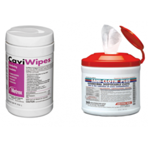 3-D Dental Infection Control - Disinfectants-Towelettes