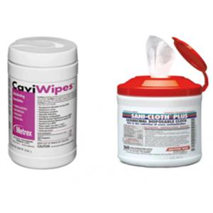 3-D Dental Infection Control - Disinfectants-Towelettes