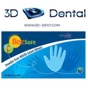 3-D Dental Infection Control - Gloves-Nitrile/Synthetic