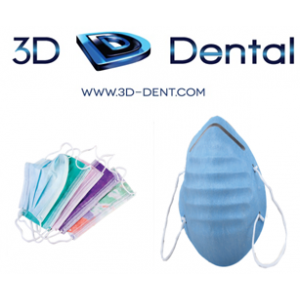 3-D Dental Infection Control - Masks