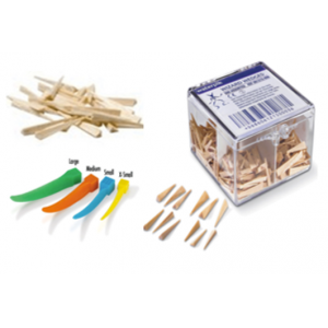 3-D Dental Matrix Materials - Wedges