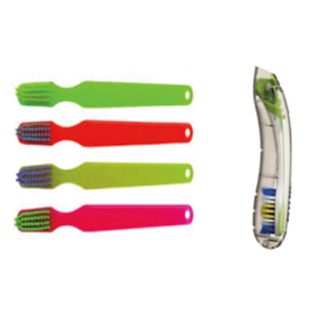 3-D Dental Preventives - Adult Toothbrushes