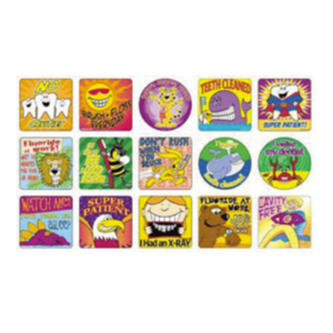3-D Dental Toys - Stickers
