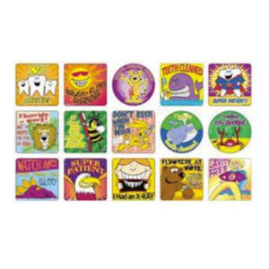 3-D Dental Toys - Stickers