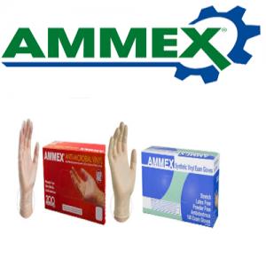 Ammex Vinyl Gloves