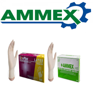 Ammex Latex Gloves