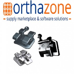 OrthAzone Brackets - Metal Brackets (Standard, Mini, Self-Ligating, Vertical Slot)