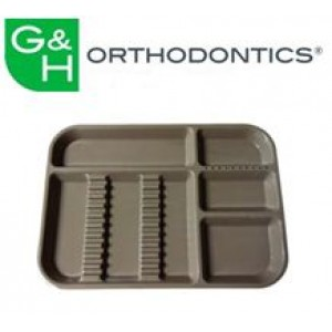 Clinical Supplies - Set-Up Trays & Tubs - Divided Trays