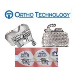 Ortho Technology Lotus Plus Ds Buccal Tubes