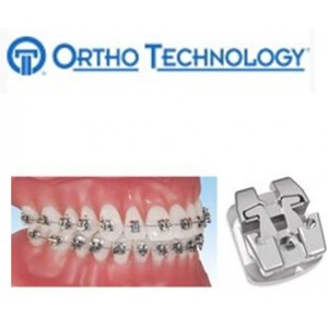 Ortho Technology Brackets   Metal / Lotus Plus Self Ligating Bracket System