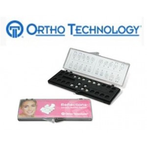Ortho Technology Brackets – Aesthetic / Reflections Ceramic Bracket System
