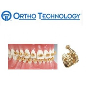 Ortho Technology Brackets   Metal / Trugold 24K Gold Plated Brackets