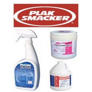 Plaksmacker Surface Disinfectants