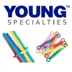 Young Specialties Elastomeric Ties