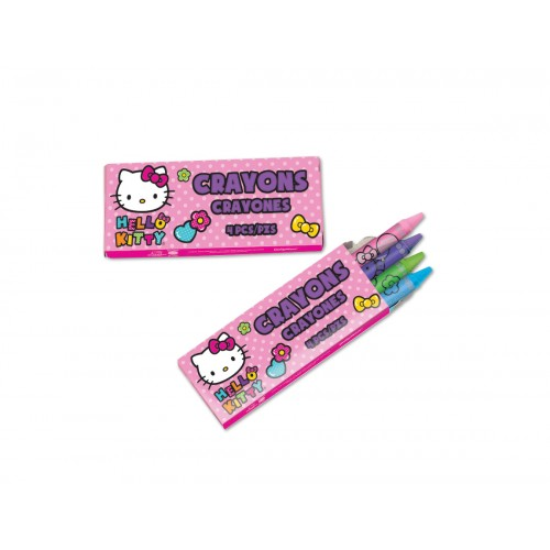 0af42d6ae Hello Kitty 4 Pack Crayons (48 per pack) (21085)