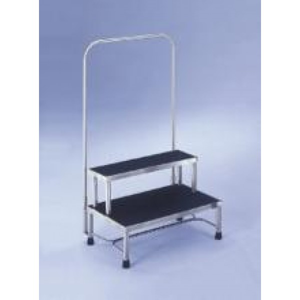 Foot Stool With Hand Rail 525