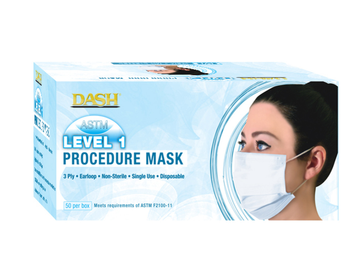 astm level 3 disposable ear loop masks pack of 50